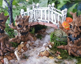 Miniature Scary Trees - Set of 3