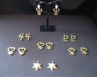 Sailor sign earrings