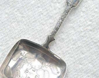 Georgian Silver Caddy Spoon 1829