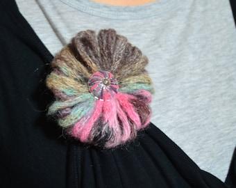 Wool pin