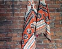 Bala Vintage REVERSIBLE Kantha Quilt
