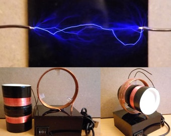 USB 5V Bi-Polar Tesla Coil 50kV 15ma ( Plasma ball )