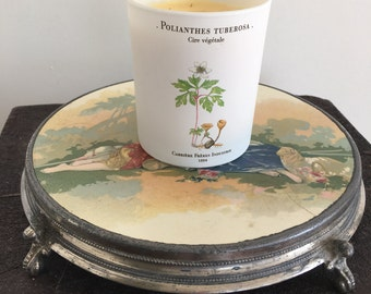 Vintage French porcelain trivet