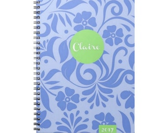 2016 Planner - Personalized Planner -  Weekly Planner - Student - Motivational - Agenda 2016
