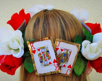 Queen of Hearts Inspired Wreath