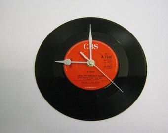 "Berlin - ""Take My Breath Away"" Record Wall Clock"