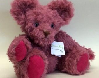 Rosina 30cm mohair bear