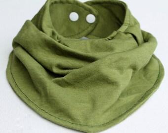 Baby Bandana Bib Avocado Green