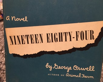 Nineteen Eighty-Four by George Orwell - First American Edition