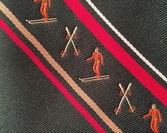 Vintage Ruffler by Rooster Skier Tie