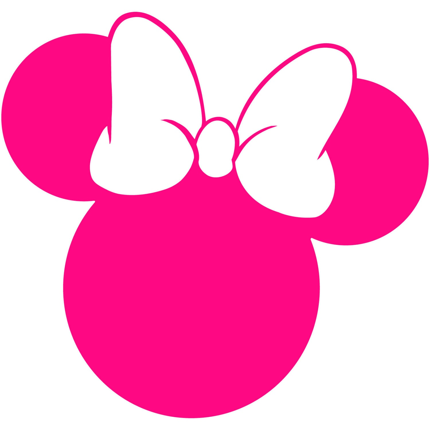 minnie mouse head silhouette walt disney disneyland world mickey ears clip art svg mickey ears clip art nurse