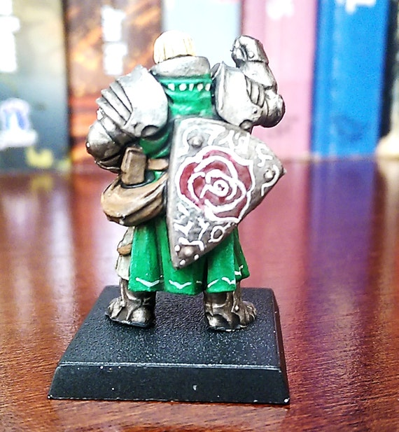 Green Paladin Of The Rose