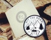 Hit The Road - 8cm Vinyl Sticker