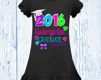 Pre-School Graduation Shirt, Kindergarten Graduation Shirt, Pre-K Graduation dress
