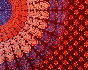 Mandala Dining table covers/Single Bed sheets