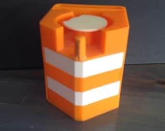 Desk organizer, orange, office storage
