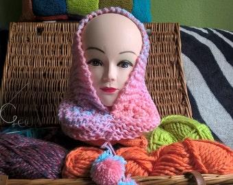 Chunky knit Snood