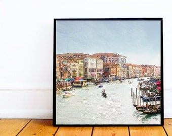 "Venice, Italy, Peaceful Wonder 5""x5"" Tiny Photo Print"