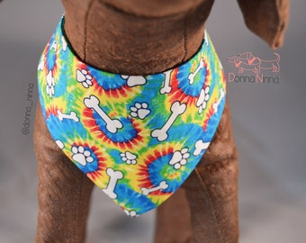 Hippie Paw Dog Bandana