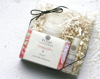 Spa Kit, Bath Gift Set, Soap Gift Set, Body Lotion, Bath Salts, Bar Soap Gift, Gift Idea for Her, Mothers Day Gift, Gifts For Mom, For Her