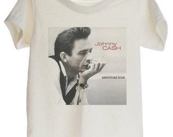 Johnny Cash ROCK Organic T-shirt for Kids
