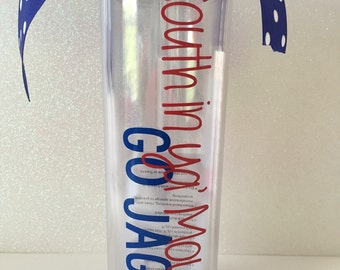 South Alabama Inspired Skinny Tumbler