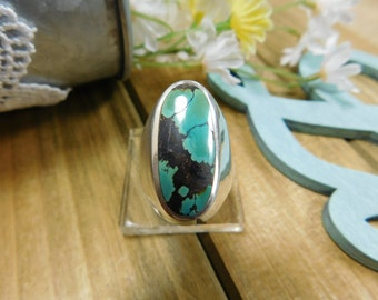 Sterling Silver Turquoise Ring-Reserved For Customer