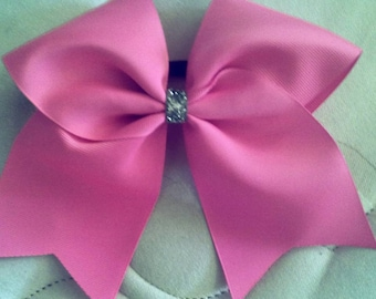 Plain Grosgrain Cheer Bows