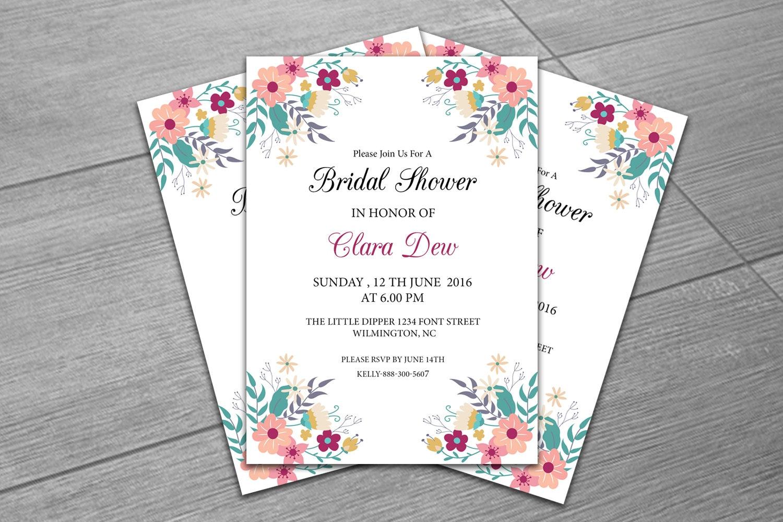 Wedding Shower Invitation: SALE Bridal Shower Invitation Template Diy Wedding Shower