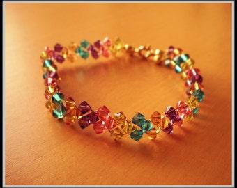 Bicones Swarovski bracelet