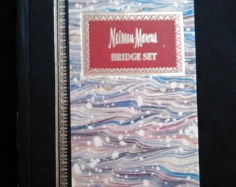 Vintage Neiman Marcus Bridge Set