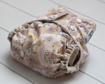 Cloth Diapers One Size. Dandelion Wishes Cloth Diaper. All In One. All In 2. Diaper Cover and Insert. OS Cloth Diaper. Bamboo Velour Insert.