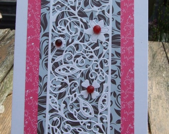 Flower Panel Card (138)