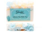 BEACH COTTON | Glycerin Soap | Shea Butter | Mango Butter | Cocoa Butter | The Graceful Rabbit