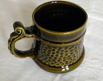 Vintage Prinknash Abbey Tankard Mug