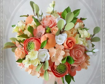 Wedding bouquet boutonniere as a gift!