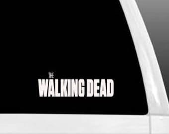 The Walking Dead Car Truck Wall Laptop Vinyl Decal Sticker