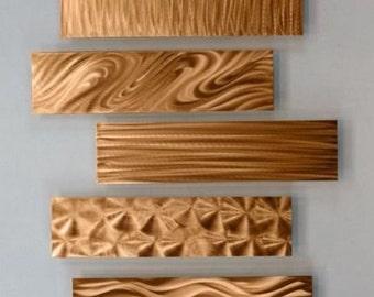 Beautiful Copper Wall Decor Accents, Wall Art, Sculpture