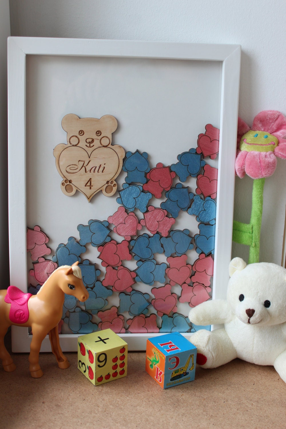 baby shower guest book alternative guest book drop top teddy