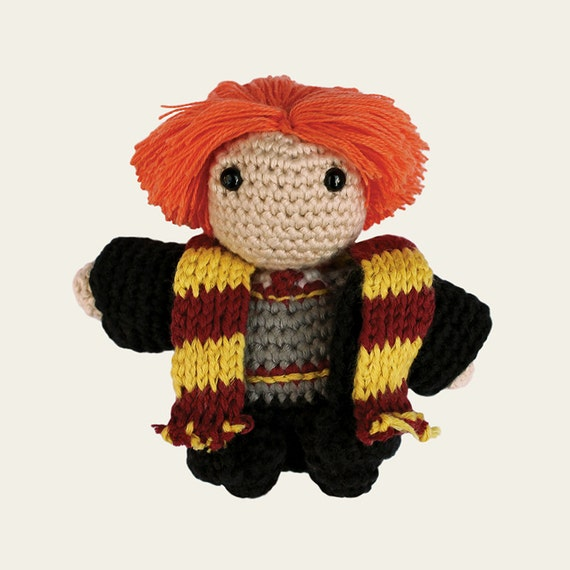 Ron Weasley - Harry Potter. Amigurumi Pattern PDF.