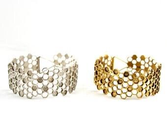 Detail Honeycomb Bracelet