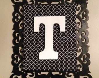 Monogram Letter Canvas
