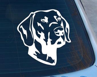 Lab Decal - Labrador sticker - Retriever - Labrador Retriever - Laptop - Macbook - Car Decal