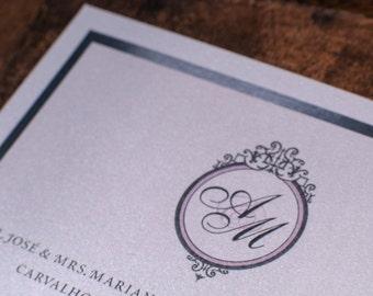 Lilac Invitations, Lilac And silver invitation, Lavender and silver wedding Invitations, Lavender Invitation, Lavender Wedding Invitations