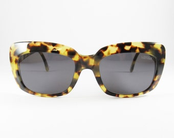 Vintage Sunglasses, Pop Eighyfour by L.S. Optical, 1970s, Oversized Sunglasses, Deadstock Sunglasses, Gift for Mom, Tortoise Sunglasses