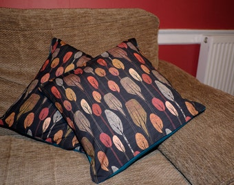Autumn leaves cushion covers (pillow fold) *New lower price!*