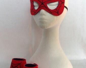 Super Hero Mask & Cuff Set