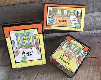 Custom Vintage Clue Game Board Boxes