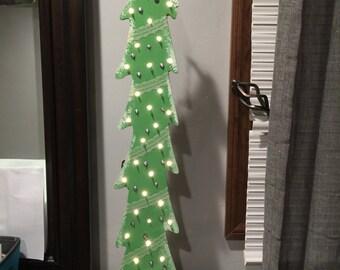 Self Standing Christmas Tree w/ Lights
