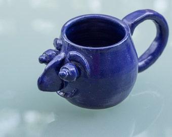 Blue Satire Mug